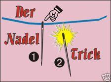 Der Nadel Trick - Ein Klassiker der Zauberkunst - Mechanische Präzision (03037)