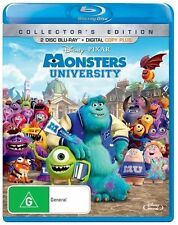 Monsters University (Blu-ray, 2013, 2-Disc Set) Collectors Edition