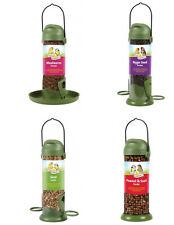 Harrisons Quality Flip Top Plastic Mealworm Seed & Peanut Bird Feeders