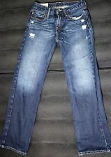 Abercrombie Kids Denim Blue Distress Jeans Pant In Size 14