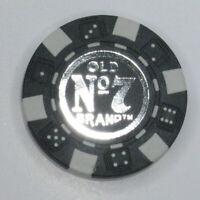 Jack Daniels Poker Chip $100 Black