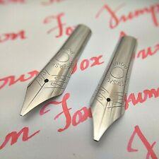 Set of 2  #6 35mm Cursive Italic (CI) Fountain Pen Nibs