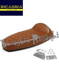 8905 - SELLA SELLONE MARRONE GRIGIO FASTBACK VESPA 50 125 PK S XL N RUSH