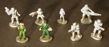Aliens Colonial Marines Miniatures 20301, 25mm Figures Leading Edge, MegaExtras!