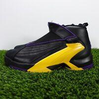 Nike Jordan Jumpman Swift Lakers Black AT2555-007 Basketball Men's Size 10