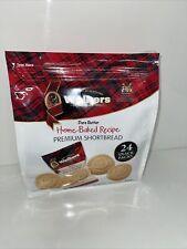 Scottish Premium Pure Butter Shortbread 600g , 24 Snack Packs , Biscuits