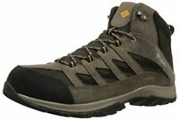 Columbia Men's Crestwood Mid Waterproof Hiking Boot, Cordovan/Squash, Size 8.0 9