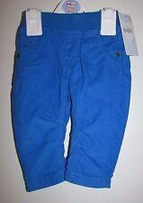 Baby De Niño Cordel confort cintura pantalones 3-6 meses azul brillante