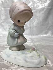 """Precious Moments """"February"""" Calendar Girl #109991"""