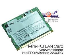 Wifi Mini PCI Network Card C59689-004 C72994-004 Lan Card Fsc Amilo pro V2040