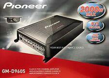 NEW Pioneer GM-D9605 Champion Series, 5 Channel, Class D Amplifier
