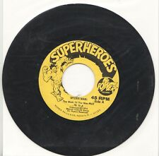 Vinyl Record SPIDER-MAN MARK OF THE MAN-WOLF Power Records