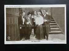Charlie Chaplin CHARLIE THE BOGUS COUNT Red Letter Photocard c1915