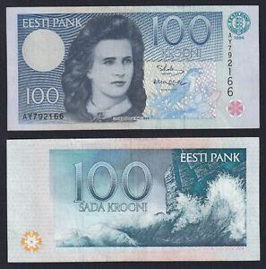 Estonia 100 krooni 1994 BB+/VF+  B-02