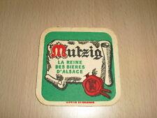 """SOUS-BOCK Mutzig """"La reine des bières d'Alsace"""""""