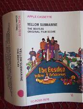Cassette- The Beatles, Yellow Submarine - Apple Records TC-PCSO-7070 Australian