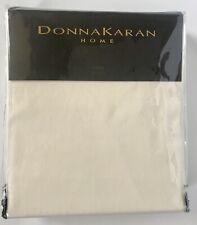 Donna Karan Home King Ultra Fine Duvet Cover Ivory Cream New