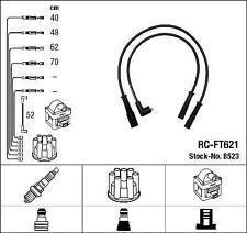 JUEGO CABLES DE ENCENDIDO BUJIAS NGK RC-FT621             8523