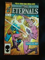 "Vintage ""The Eternals"" #6 of 12 ""Ikaris vs. Kro"" 1985 Comic Marvel Comics"