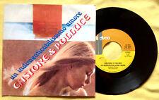 """CASTORE E POLLUCE / UN INDIMENTICABILISSIMO AMORE - 7"""" (Italy 1977) EX /NM"""