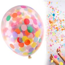 3x CONFETTI BALLOONS Hen Do Bridal Engagement Wedding Birthday Party Baby Shower