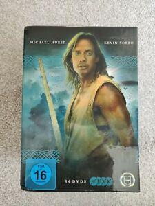 Hercules - The Legendary Journeys Complete Series 34 Disc DVD Box Set