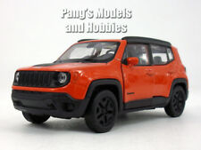 4.5 inch Jeep Renegade Trailhawk 1/32 Scale Diecast Model by Welly - Red