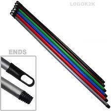 Threaded Aluminium / Plastic Broom Mop Handle 1.08m x 21mm Thick Brush