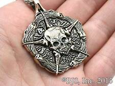 Bronze Court of the Dead Underworld United Medallion, Sideshow, Skull Necklace