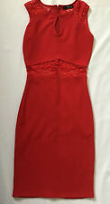 Jane Norman Red Bodycon Dress Size 8