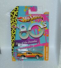 HotWheels Diecast Cars of the Decades (80's) '80 Pontiac Firebird - NEW - Sealed