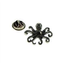 Roman Octopus Pewter Lapel Pin Badge XWTP052
