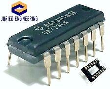 10PCS Texas Instruments UA723CN UA723 (Direct Replacement LM723CN LM723)+Sockets