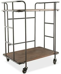 "Brand New! Thirstystone Farmhouse Bar Cart  28""W x 17""D x 33""H"