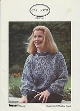 Carl Boyd Design #27 Meadow Sweet - Fairisle Sweater