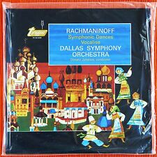 DONALD JOHANOS -  RACHMANINOFF SYMPHONIC DANCES & VOCALISE 180g 45rpm 2LP SEALED