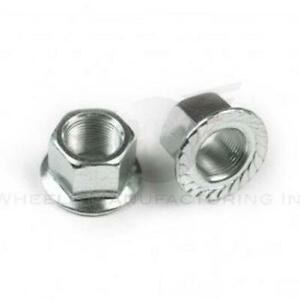 WHEELS Mfg Outer Axle Nuts 14 Mm 1 Mm/Thread Front Or Rear 2/Bag Bike