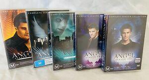 Angel dvd complete Series- seasons 1,2,3,4,5 Dvds