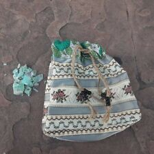 Mojo Bag With Fluorite Crystals