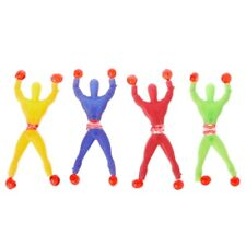 10pcs Sticky Wall Climbing Flip Rolling Men Climber Kids Toy Favors Random Color