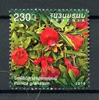 Armenia 2018 MNH Pomegranate Flora & Fauna 1v Set Flowers Plants Nature Stamps