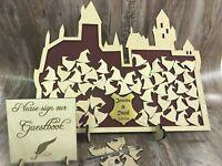 Harry Potter Inspired Gryffindor Hogwarts Castle wedding drop box alternative
