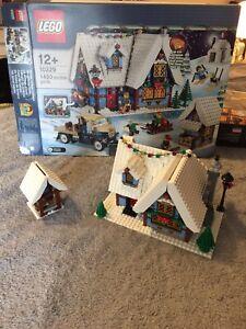 LEGO 10229 Winter Village Cottage - Incomplete