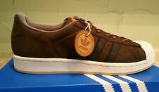 a24cd337fd8a ADIDAS MEN S ORIGINALS SUPERSTAR FOUNDATION CASUAL SNEAKERS SIZE8.5 BROWN  S82214