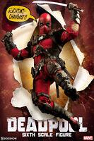 """Sideshow Marvel Comics DEADPOOL 12"""" Action Figure 1/6 Scale X-Men X-Force"""