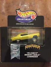 Hot Wheels Collectibles Lowrider '70 Chevy Monte Carlo Black Box Sealed