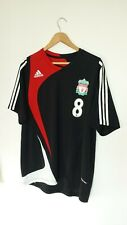"Liverpool FC Adidas Training Formotion Shirt 44/46"" Large 08/09 Black Red"