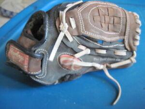 "Rawlings Savage PP100DP 10"" Youth Baseball Glove Right Hand Throw GUC"