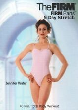 THE FIRM PARTS 5 DAY STRETCH ORIGINAL CLASSIC FIRM DVD NEW SEALED WORKOUT