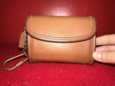 Coach Vintage Wallet Super Cute Leather Color Brown With A Brass Chain Handle